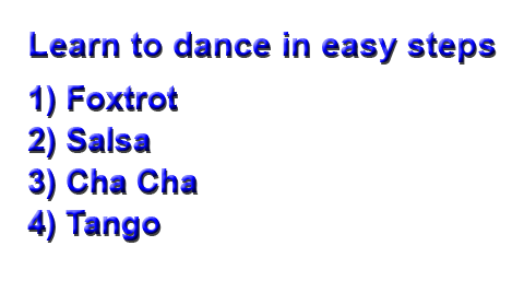 Click here for more details on, 4 How to dance videos