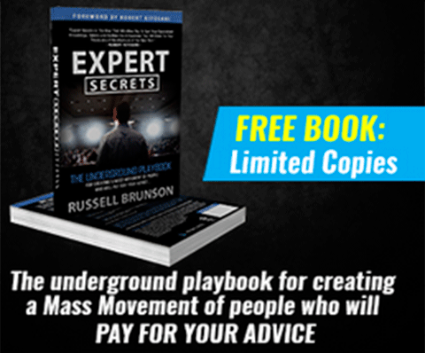 Click here for more details on, Expert Secrets