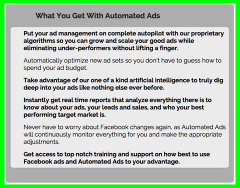 Click here for more details on, Facebook Ad Optimization