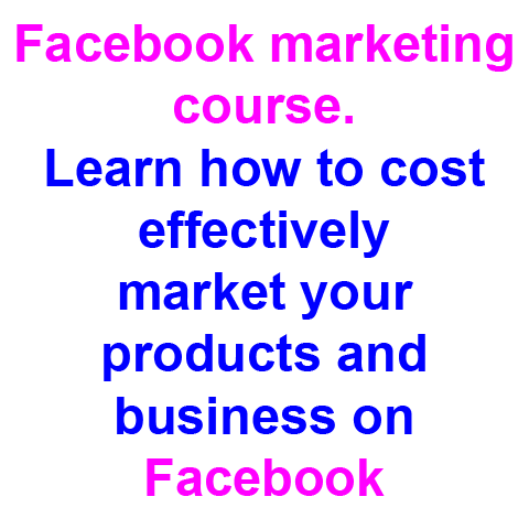 Click here for more details on, Facebook marketing course